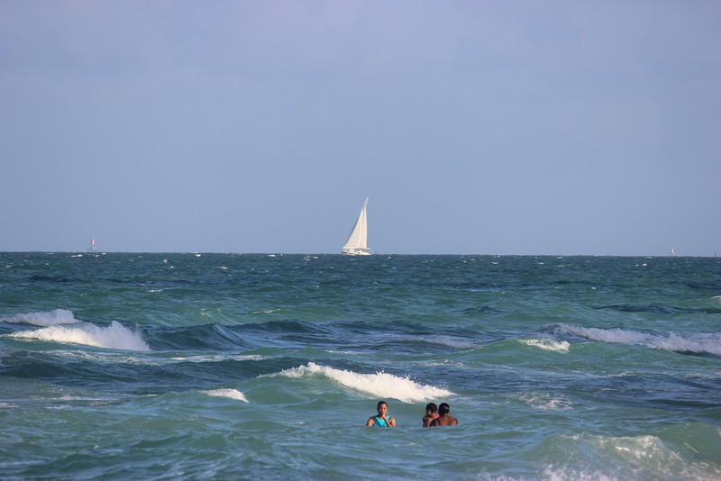 Swimming and Sailing in the Atlantic