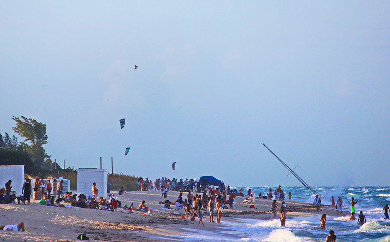 Kites on the Beach