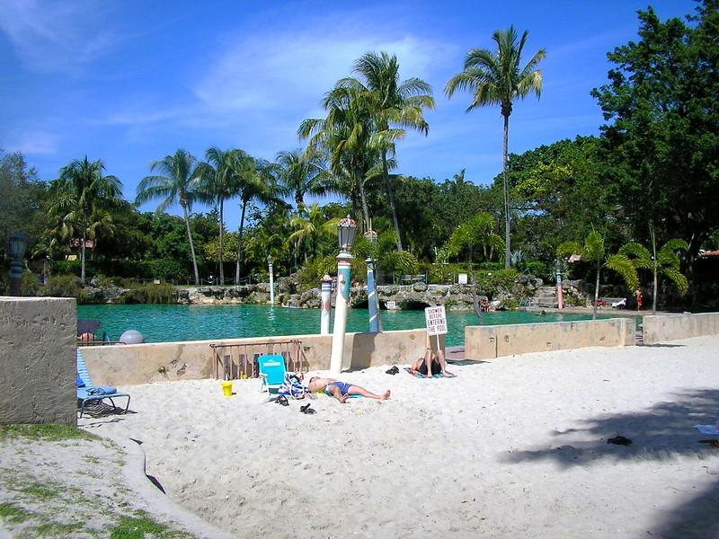 Venetian Pool Sand Beach