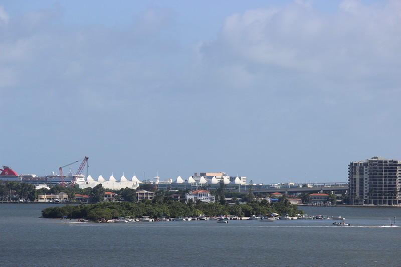 Biscayne Bay and the Port of Miami