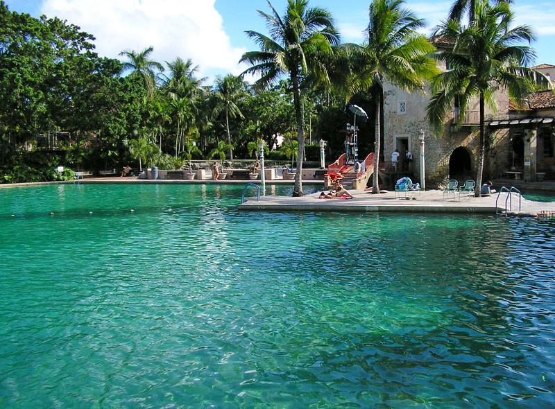 Aquifer-fed Venetian Pool