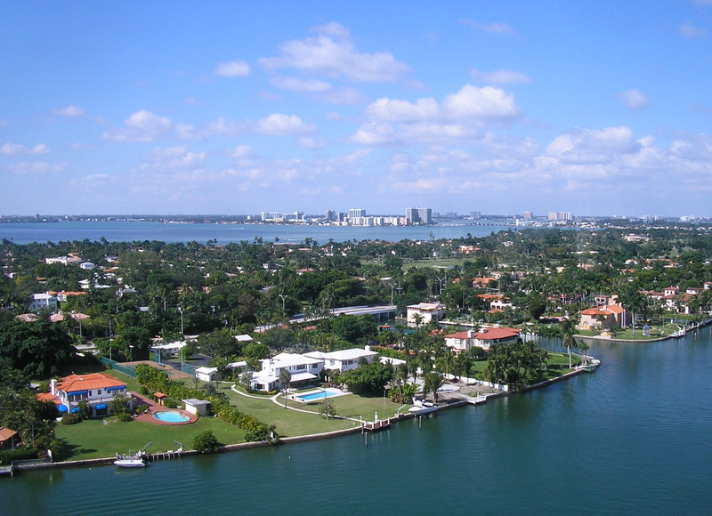 Intercoastal Waterway and Biscayne Bay