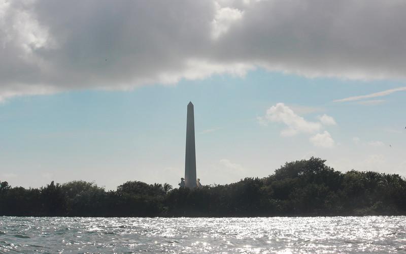 Obelisk and Allegorical Sculptures