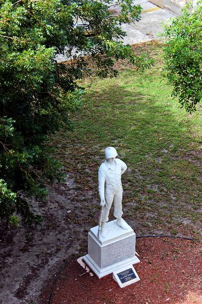 Statue of Sgt. Hyman Bergman