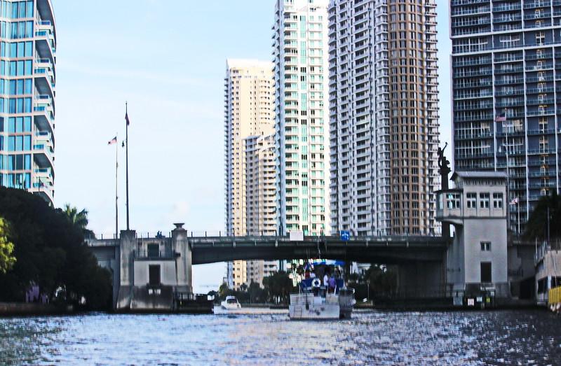 Brickell Bridge in Downtown Miami