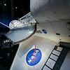 NASA logo on shuttle wing