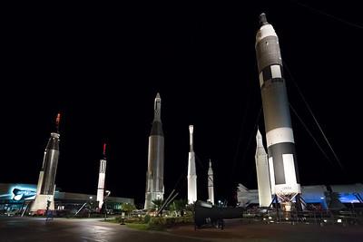 Cape Canaveral rocket garden