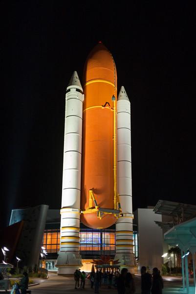 shuttle booster rockets