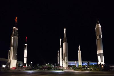 rocket garden Cape Canaveral