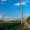 road to sugar refinery Florida everglades