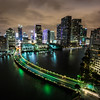 Miami seen from Brickell Key