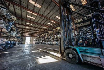 forklift boat storage shed Pass-a-Grille Florida