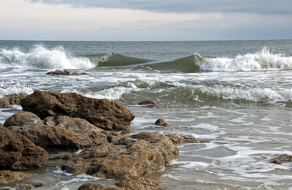 Surf off A1a Beach
