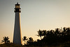 Cape Florida Lighthouse sunset. Key Biscane, FL<br /> <br /> FL-111229-0087