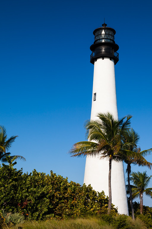 Cape Florida Lighthouse. Key Biscane, FL<br /> <br /> FL-111229-0042