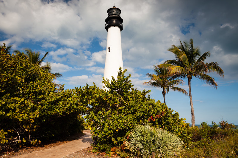 Cape Florida Lighthouse. Key Biscane, FL<br /> <br /> FL-111229-0018