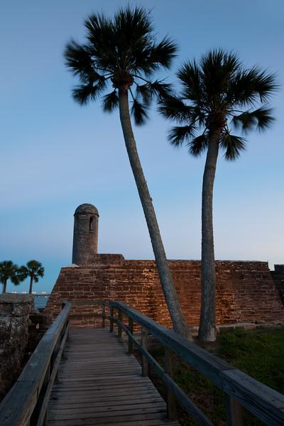 Castillo de San Marcos Dusk