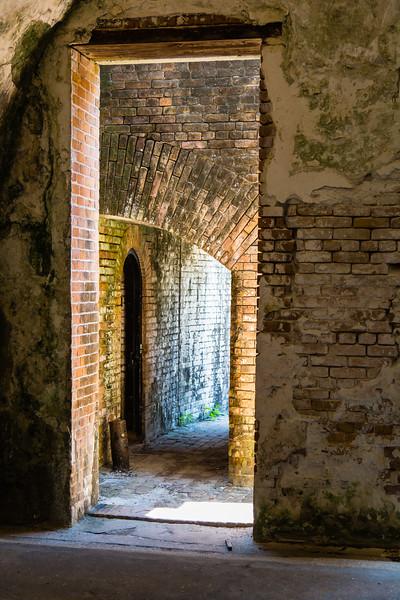 Fort Pickens - Doors and Passageways
