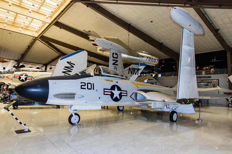 Naval Museum of Naval Aviation - McDonnell F2H Banshee