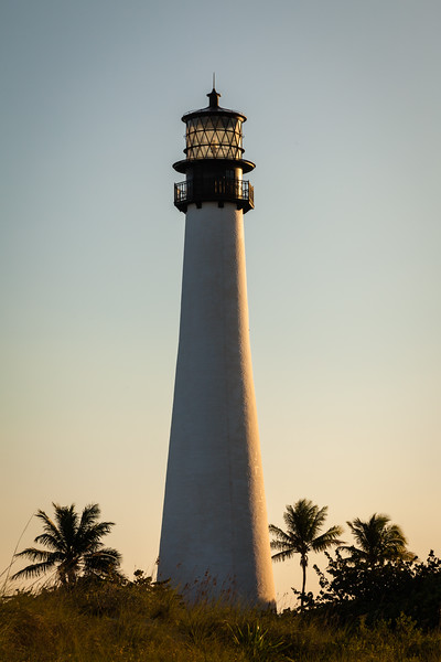 Cape Florida Lighthouse sunset. Key Biscane, FL<br /> <br /> FL-111229-0056