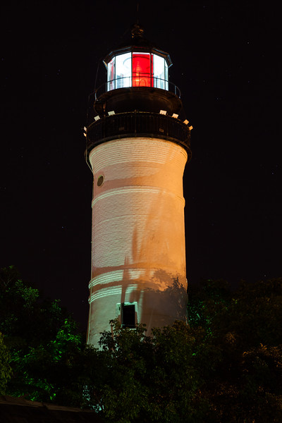 Key West Lighthouse at Night