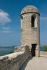 The San Carlos Bastion included a bell from which warnings of enemy sightings were sent. Anastasia Island, FL<br /> <br /> FL-080624-0191