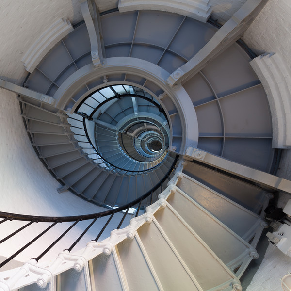 At 175 feet, the Ponce de Leon Inlet lighthouse is the second tallest in the U.S. Climbing the stairs to the tower is rewarded by a breathtaking view. Volusia County, FL<br /> <br /> FL-100624-0061