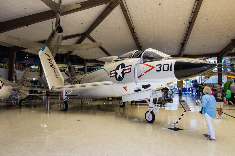 Naval Museum of Naval Aviation - McDonnell F3H Demon