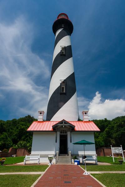 St. Augustine Light. Anastasia Island, FL<br /> <br /> FL-080625-0175