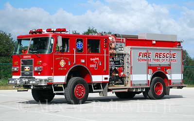 Seminole Tribe Fire Rescue - Brighton