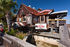 Sculley's Dockside Grill in the quaint fishing village of John's Pass, Florida, USA.
