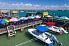 The quaint fishing village of John's Pass, Florida, USA.
