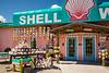The Shell World gift shop building on Key Largo, Florida, USA.