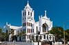 The St. Paul's Episcopal Church exterior facade, Key West, Florida, USA.