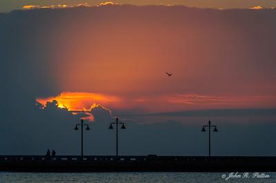 White Street Pier sunrise.