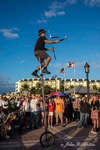 Mallory Square juggler