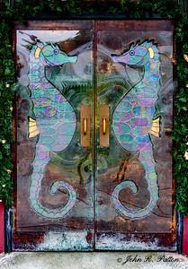Seahorse doors