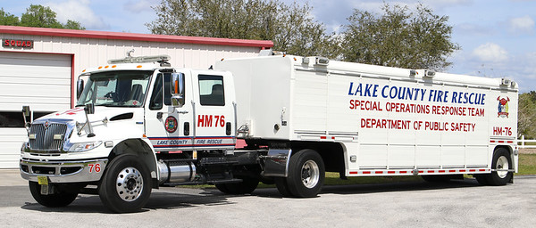 HM-76   2007 International 4400 / 1995 Mickey Trailer