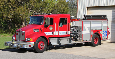 Engine 83   2004 Kenworth / Pierce.  1250 / 1000