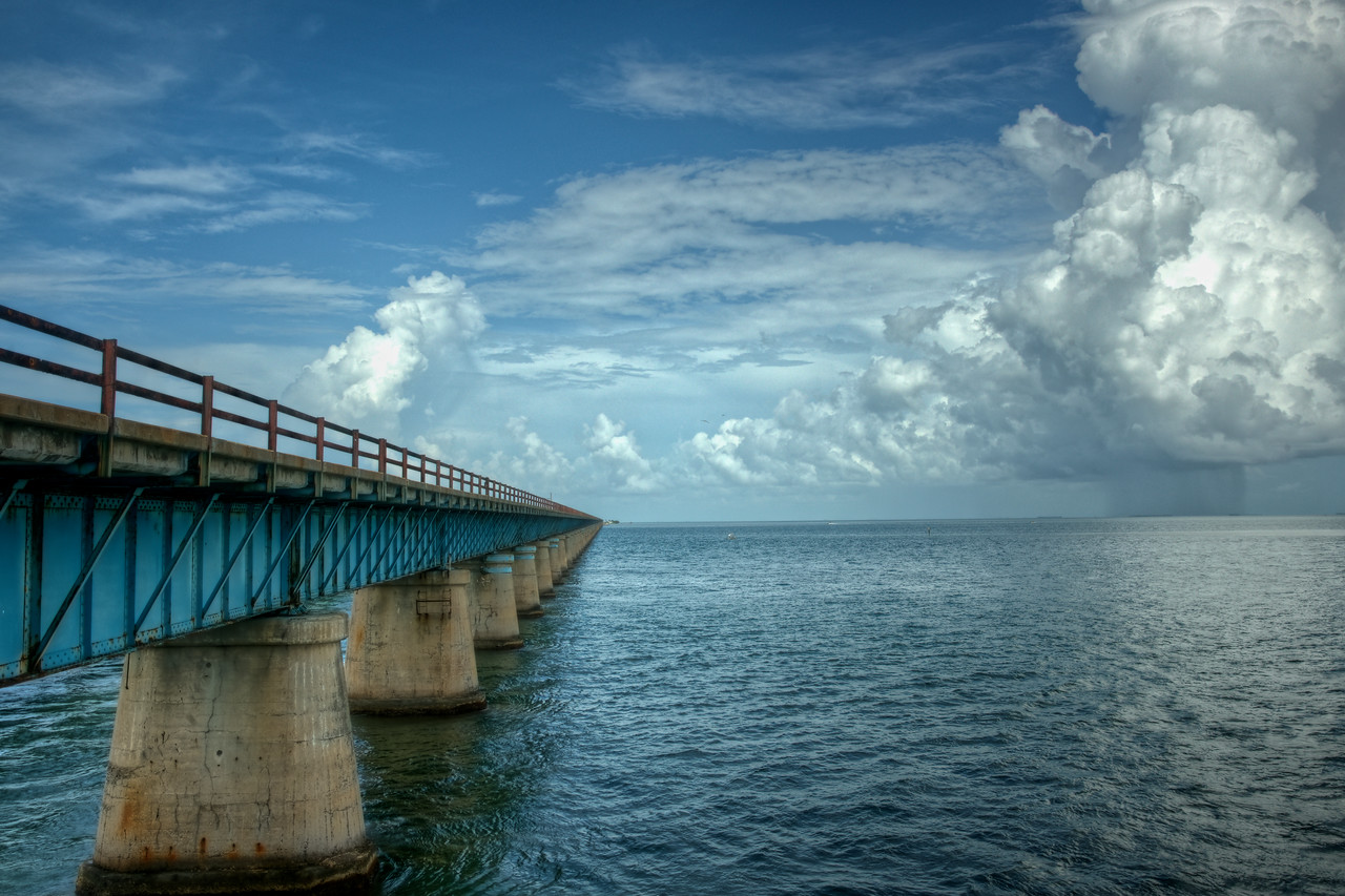 Seven Mile Bridge Looking West #2
