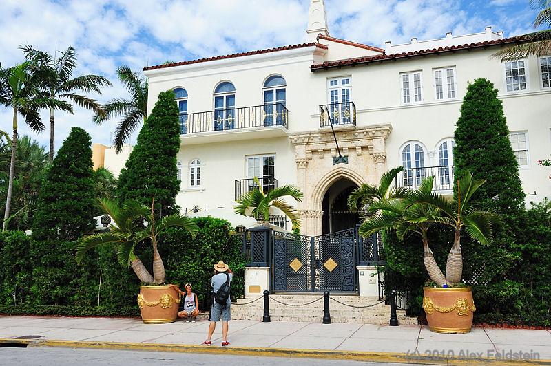 Versace's House<br /> Ocean Drive - SoBe