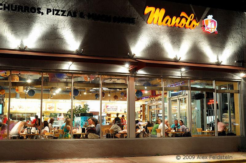 Manolo in Miami Beach