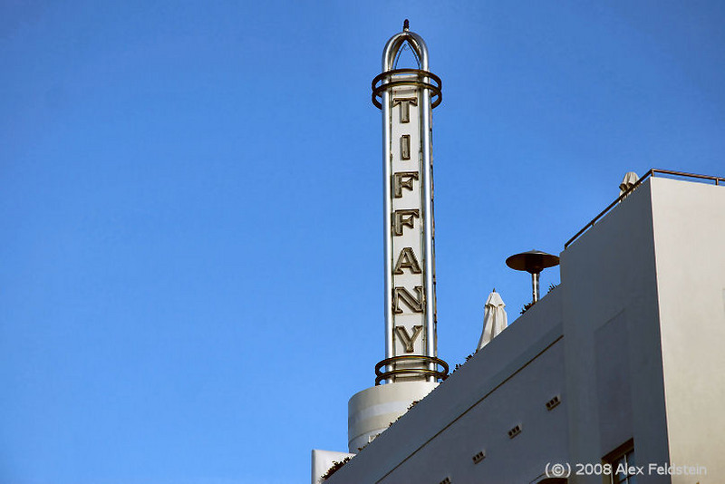 The Tiffany on Collins Ave,.
