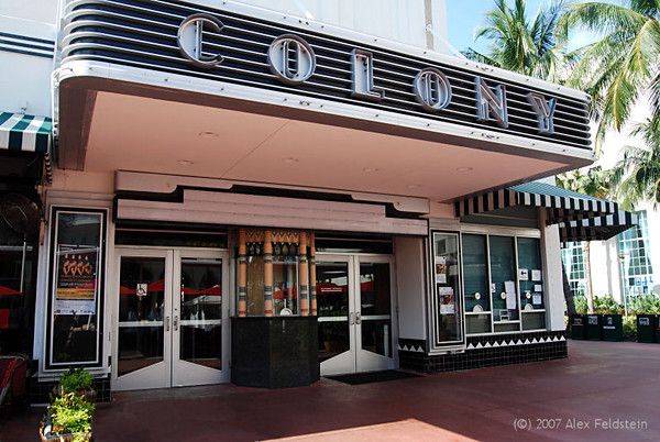 Colony Theater - South Beach - Art Deco district