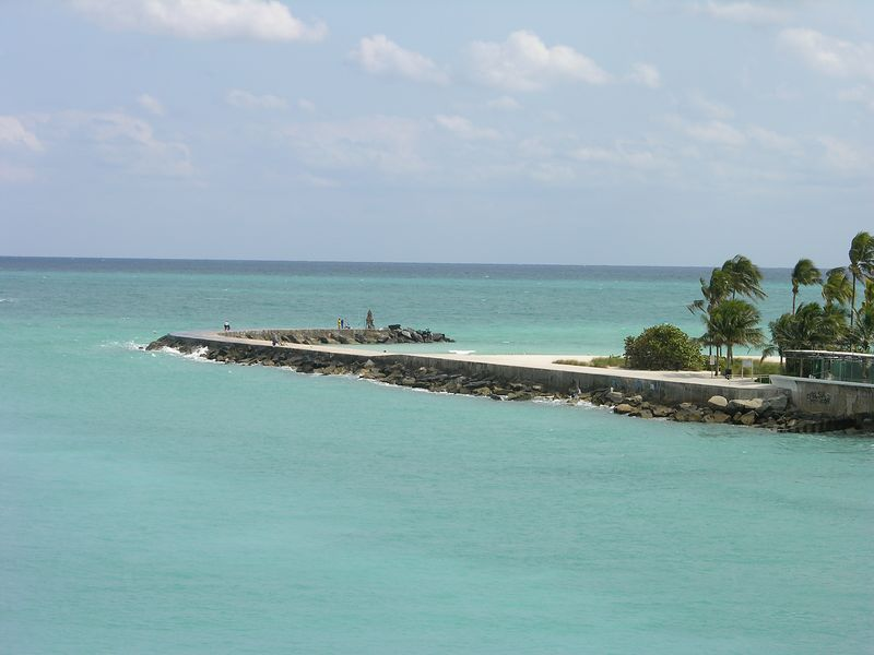 Haulover cut and Bal Harbour jetty