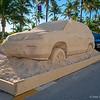 Sand sculpture<br /> Miami Beach