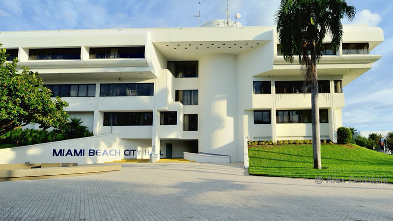 Miami Beach City Hall on 17th - SoBe