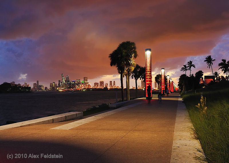 Government Cut from South Pointe Park<br /> Miami Beach