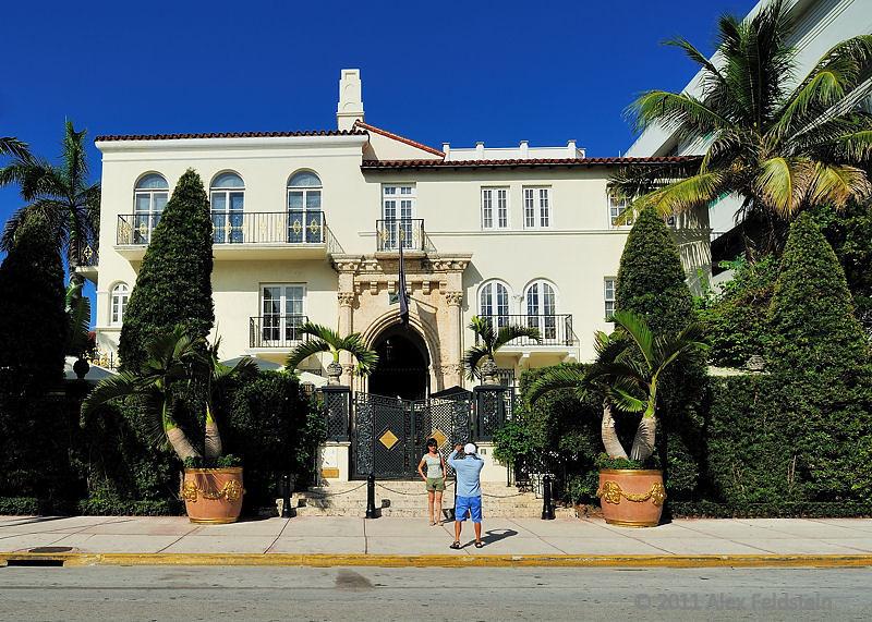 Versace's house on Ocean Drive - SoBe