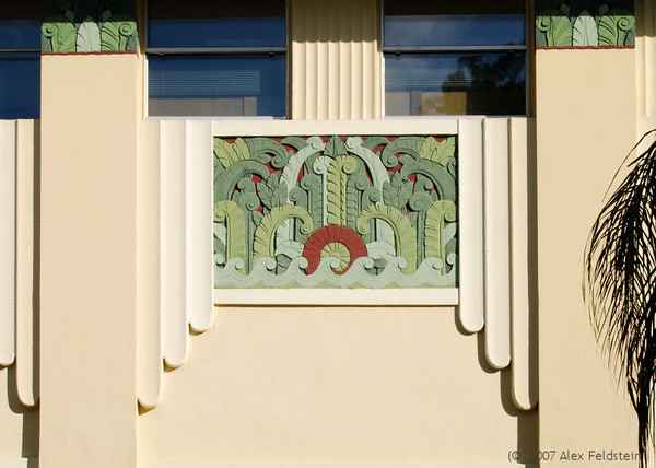 Lincoln Rd. building detail